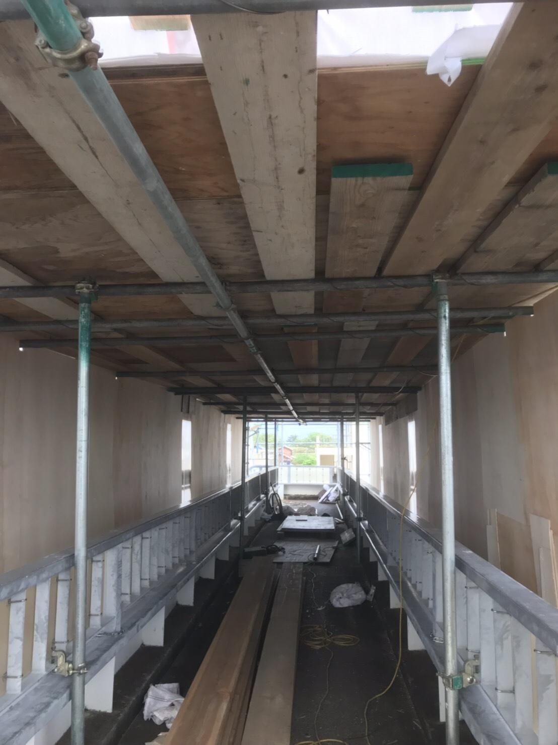 豊橋市下地町 歩道橋塗装工事